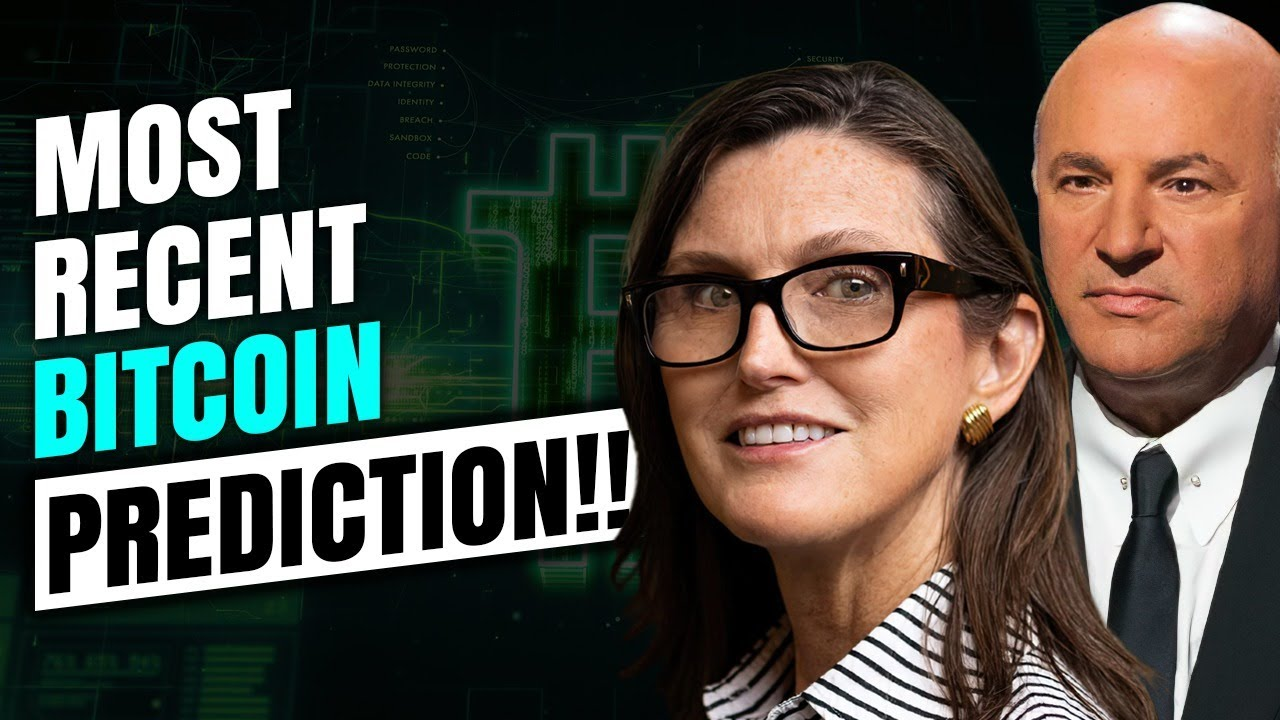 Bitcoin Price will SOAR ABOVE ALL Expectations If This Happens :Cathie Wood & Kevin O'leary